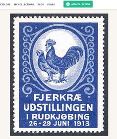 Poultry exhibition held in Rudkjøbing poster stamp at kollectbox.com  There were 20 different poultry exhibitions in Denmark between 1906 and 1928 that issued poster stamps for publicity.  Join kollectbox.com - The Marketplace for Stamp, Coin and Banknote Collectors #marketplace   #ecommerce   #startup   #stamp   #posterstamp   #posterstamps   #stamps   #philately   #selos   #filatelia   #hobby   #collectors   #collectibles