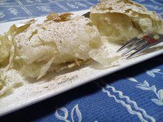 Ricetta della bougatsa alla crema. E' una tipica colazione greca, molto diffusa…