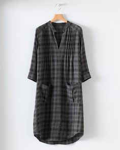 Wool dress; with tights/leggings