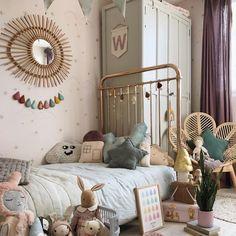 Baby Nursery Decor, Baby Bedroom, Girls Bedroom, Big Girl Rooms, Kids Decor, Beddinge, Home Decor Items, Room Inspiration, Toddler Bed