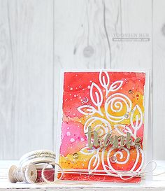 Today I want to share with you my couple of floral themed cards using Simon Says Stamp DieCember™ release! DieCember™ dies are so delicate and beautiful, and I especially love… Greeting & Note Cards, Greeting Cards Handmade, Watercolor Cards, Flower Watercolor, Watercolor Trees, Watercolor Portraits, Watercolor Landscape, Watercolor Painting, Watercolors