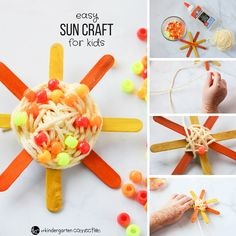 How fun is this?  Would be especially fun with older kids.  It would help to have sticks pre-painted, or use markers/highlighters for quick coloring and fast drying.  :)