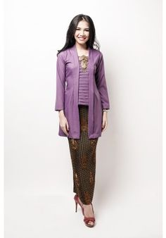 kurung kutubaru purple