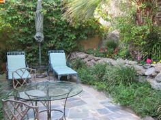 The Willows: The Einstein Room's private patio