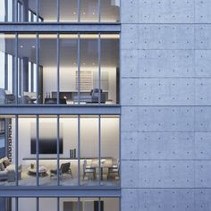 Tadao Ando reveals concrete and glass 8 unit apartment block for Lower Manhattan, 2014