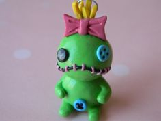 Scrump Charm-Lilo & Stitch-Polymer Clay