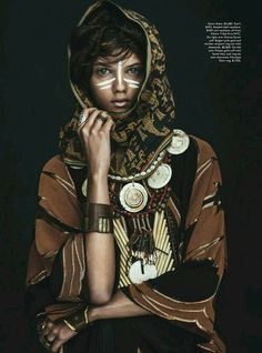 Tribal african woman