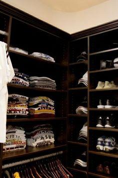 Royal Fashionist How to : Organize a Men's Closet