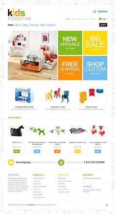 Jigoshop Website Template #webdesign
