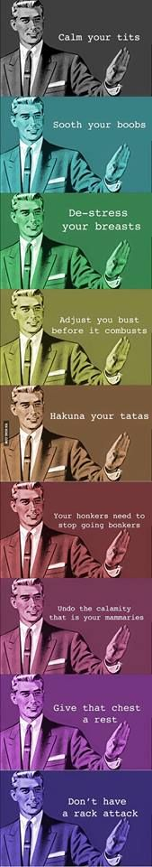 Can't stop laughing at this, especially the hakuna one