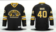 Boston Bruins 40 Tuukka Rask Third Jersey - Black [Boston Bruins Hockey Jerseys 108] - $50.95 : Cheap Hockey Jerseys