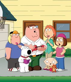 Family Guy (TV Series ) In a wacky Rhode Island town, a dysfunctional family strive to cope with everyday life as they are thrown from one crazy scenario to another. Family Guy Season 15, Family Guy Tv, Free Cartoon Movies, Cartoon Tv, Griffin Family, Seth Green, Peter Griffin, Lois Griffin, Comic Art