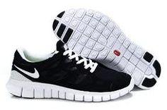 ce6c063c5df2 Latest Listing Nike Free Run 2 Black White Womens Lightweight Shoes
