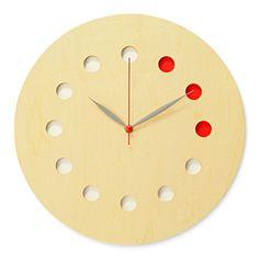 3c422212dbd cosine 掛け時計 カラー メープル 10500yen ポップなカラー板が和みの空間を演出してくれる掛け時計