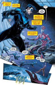 Dick & Wally in Titans Rebirth #1 - Brett Booth