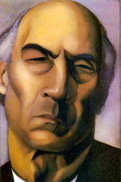 Portrait of André Gide, ca. 1925 - Tamara De Lempicka