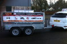 Pass your trailer towing test and join 100's of other successful Omagh students who we have trained and helped pass their trailer driving test. We provide Car, Motorcycle, Car & Trailer training to DVA test standard. ADI approved instructor Omagh, Co. Tyrone.