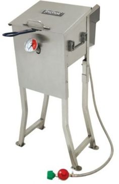 Outdoor deep #fryer stainless steel basket 2.5 #gallon cooking #chicken turkey fi,  View more on the LINK: http://www.zeppy.io/product/gb/2/262545273628/