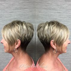 Blonde hair , pixie , haircut , haircolor #hairbyelena