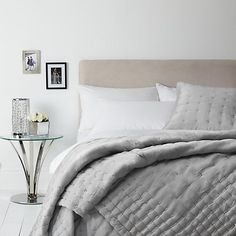 Buy John Lewis Boutique Hotel Silk Bedspread, Tea Rose, x from our Throws, Blankets & Bedspreads range at John Lewis. Free Delivery on orders over Cushion Covers Online, Cushion Cover Designs, Boutique Hotel Bedroom, Home Bedroom, Bedroom Ideas, Beautiful Bedrooms, Soft Furnishings, Bed Spreads, New Homes