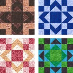 How to:  Aunt Sukey's Choice Quilt Blocks