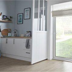 Cloison amovible Atelier divers résineux et feuillus, blanc | Leroy Merlin
