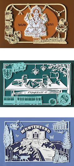 Julene Harrison | Illustrator | Central Illustration Agency #decorative #detail #pattern #illustration