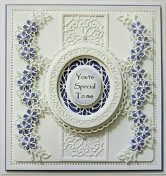PartiCraft (Participate In Craft): Finishing Touches Petite Peony Cluster Sue Wilson Dies, Origami, Spellbinders Cards, Card Companies, Easel Cards, Pretty Cards, Copics, Anniversary Cards, Greeting Cards Handmade