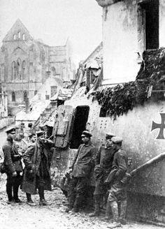 German tank 1918.
