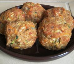 Healthy Kids Meals - Turkey Meatballs toddler food.. to veganize!