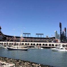 China Basin Park - San Francisco, CA, United States. San Francisco Giants Opening Day 2015