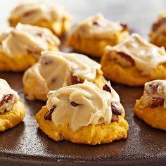 Get a taste of fall with #pumpkin #pecan #cookies.
