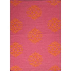 Shop for Handmade Flat Weave Moroccan Pattern Pink/ Purple Rug (5' x 8'). Get free shipping at Overstock.com - Your Online Home Decor Outlet Store! Get 5% in rewards with Club O! - 15520369
