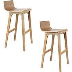 Thabo Bar Stool, Natural (Set of 2)
