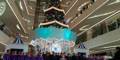 The Bradford 100 Voice Choir performing at SM Seaside City Cebu - Spherical Image - RICOH THETA O Ho