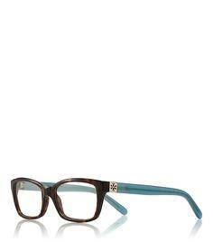 e8945d065da9 Tory Burch Tortoise Rectangle Eyeglasses - TORT. MILKY FOUNTAIN Eyeglasses  For Women Round Face,