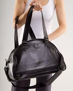 "lululemon athletica | Retro groove Bag - Perforated in ""Black"" - StyleSays"