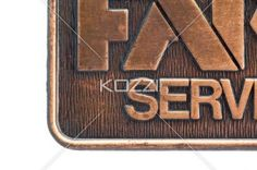 cropped image of commerce farm services logo. - Cropped image of commerce farm services logo isolated on white background.