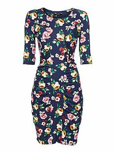 Therapy Floral bodycon tube dress
