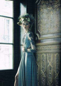 JEan Paul Gaultier Haute Couture F/W 2011, photographed by Victor Demarchelier