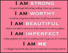 I AM Perfectly Imperfect!!!