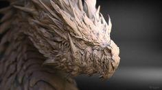 ArtStation - Dragon's chess model., keita okada