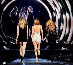 Taylor Swift brings supermodels Gigi Hadid, Martha Hunt on stage for Detroit concert