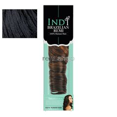 "Sun Mar 13, 2016 - #2: Indi Brazilian Remi Super Curl 18"" - Color 1 - Human Weaving"