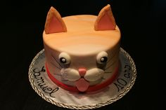 Gâteau chat / Cat cake
