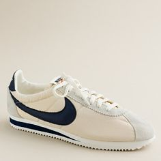 vintage Nike, my first pair were turquoise blue and white! I had to get the money from my grandpa to get them... (they were on sale at JC Penneys in Paris) They were too big but I got them anyway!  LOL