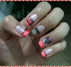 Easy Nail Art, You Nailed It, Pedicure, Nail Art Designs, My Nails, Eye Makeup, Polish, Nailart, Beauty