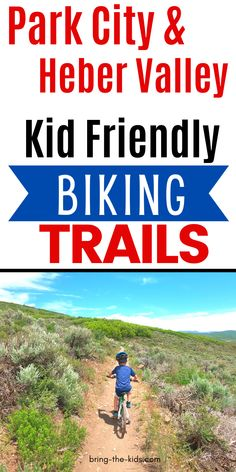 Are you looking for the best biking trails with kids in Park City?  Park City Utah has some of the best mountain bike trails in Utah, and so many of those are wonderful for kids.  We'll tell you what trails to take as well as some suggestions for beginning mountain biking. Heber Utah, Heber City, Park City Mountain, Park City Utah, Best Mountain Bikes, Mountain Bike Trails, Canyon Bike, Mt Bike, Utah Camping