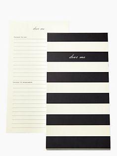 Dear Me Notepad, Black