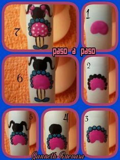 """Awesome """"top nail art designs"""" info is available on our site. Check it out and you wont be sorry you did. Toe Nail Art, Easy Nail Art, Toe Nails, Basic Nails, Simple Nails, Cute Nail Art Designs, Nails For Kids, Pedicure Nails, Christmas Nail Art"""